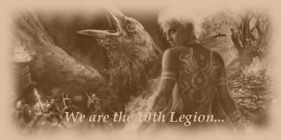 Sepia tone image based on Dungeon Siege III