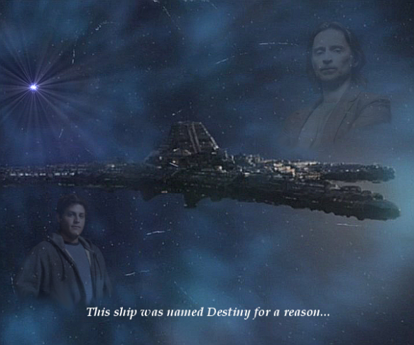 An image of Destiny from Stargate: Universe, created for a graphics contest