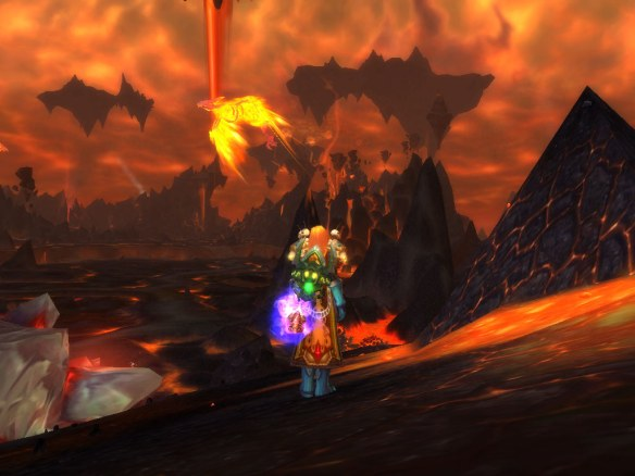 My paladin during a Firelands trash run