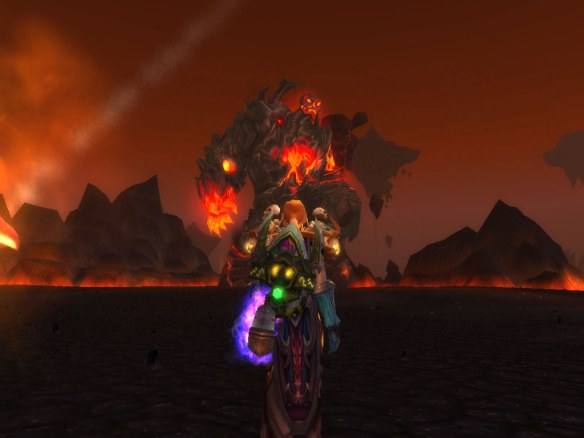Lord Rhyolith in the Firelands raid.