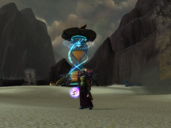 My mage in the new End Time dungeon
