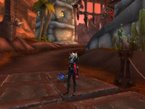 My warlock in Orgimmar