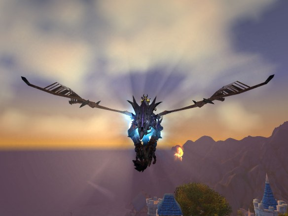 My frost wyrm mount from Glory of the Icecrown Raider