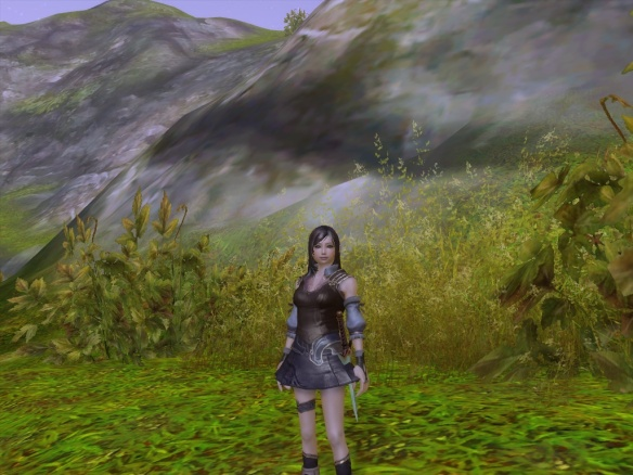 The protagonist of two of my novels, recreated via Aion's amazing character customization
