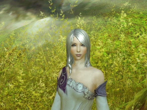 A character from my writing recreated via Aion's amazing character customization