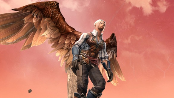 A winged Elosian in Aion
