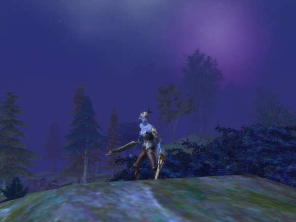 My character in Aion, an Asmodian ranger