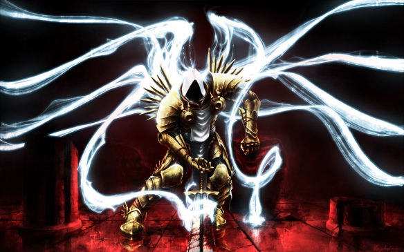 Art of Archangel Tyrael from Diablo 3