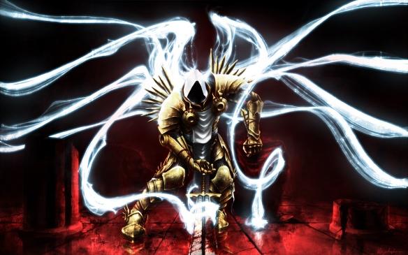 Art of Archangel Tyrael from Diablo 3