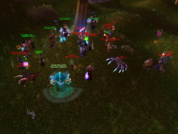 A lovely display of sportsmanship following the Wyrmrest Accord world PvP event