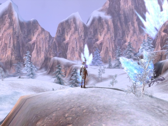 A winter zone in Aion