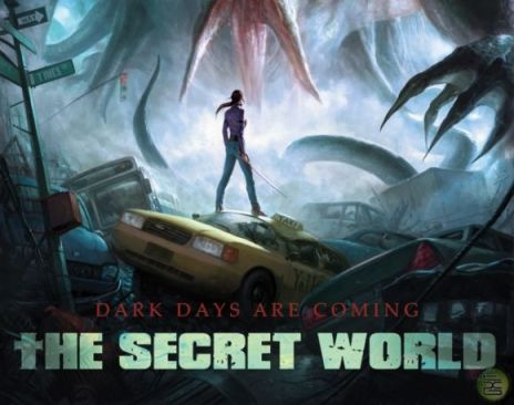 A promotional image for The Secret World