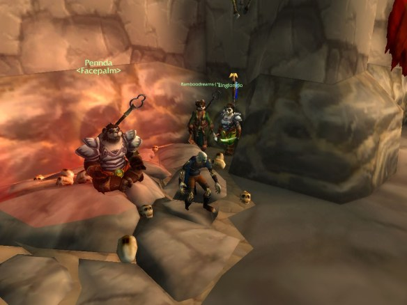 A low level Warsong Gulch match in the World of Warcraft: Mists of Pandaria beta
