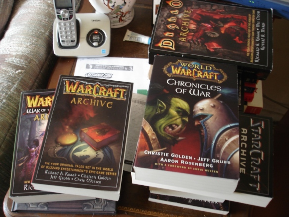 My prize books from the 2011 Blizzard Writing Contest