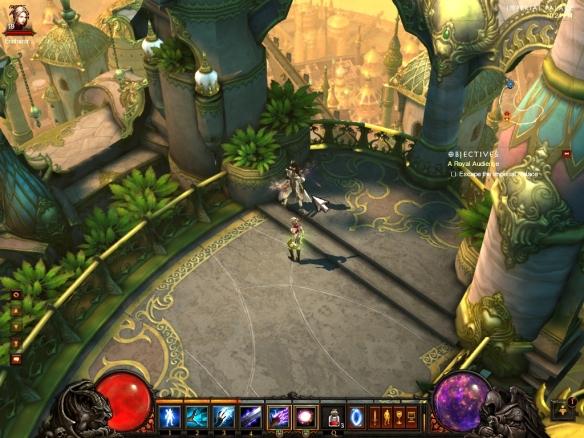 The city of Caldeum in Diablo III