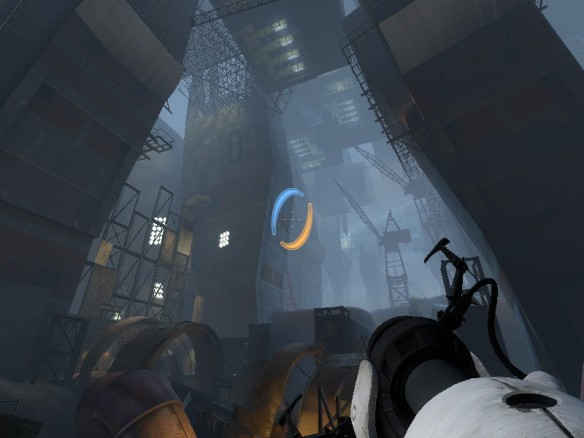 A screenshot from Portal 2