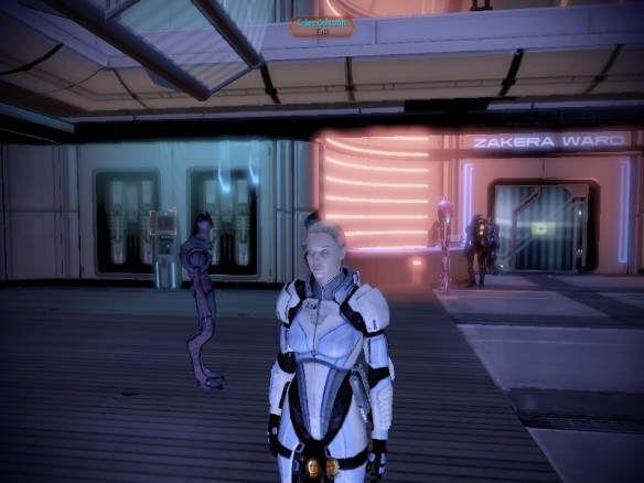 My version of Commander Shepard in Mass Effect 2