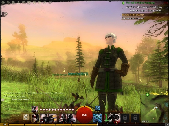 My thief in the Guild Wars 2 beta