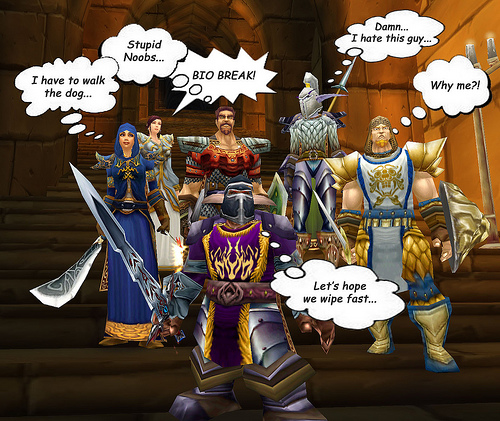 World of Warcraft: A wretched hive of scum and villainy