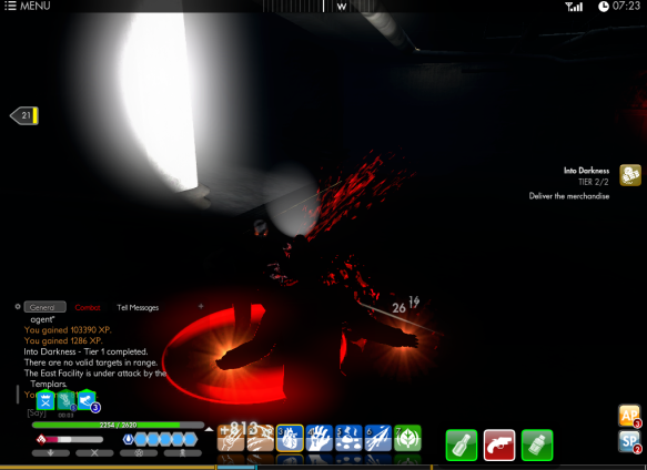 "The Dragon mission ""Into Darkness"" in The Secret World"