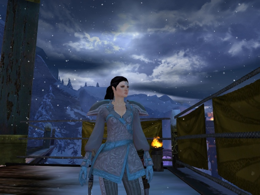 My Norn thief in Hoelbrak in Guild Wars 2