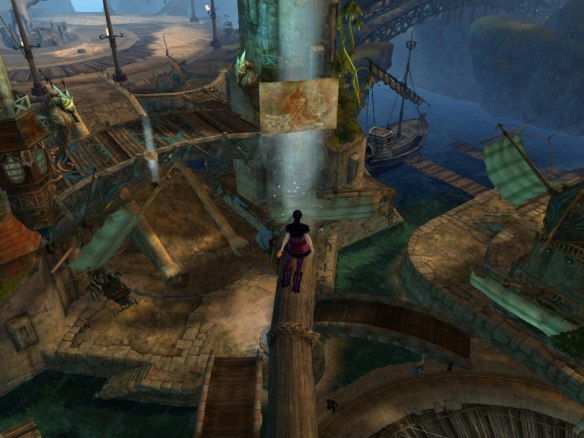A vista in Lion's Arch in Guild Wars 2