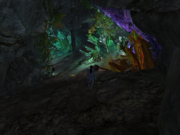 A hidden cave in Guild Wars 2