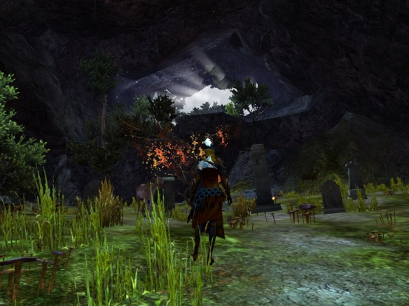 A hidden cavern in Guild Wars 2