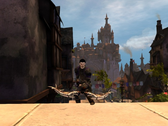 My human warrior alt in Guild Wars 2