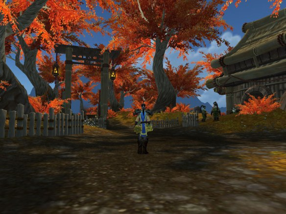 Binan Village in Kun-Lai Summit