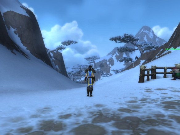 The snows around Mount Neverest in Kun-Lai Summit