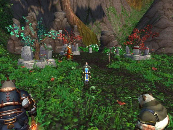 The graveyard in Zouchin Province in Kun-Lai Summit