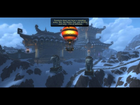 The Shado-pan Monastary in Kun-Lai Summit