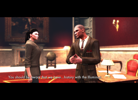 My Templar alt meeting with Richard Sonnac in The Secret World