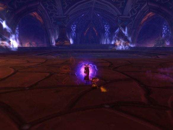 My warlock in the Heart of Fear raid