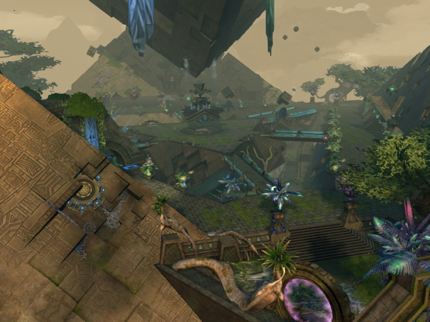 The city of Rata Sum in Guild Wars 2