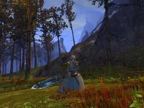 My mesmer in Wayfarer Foothills in Guild Wars 2