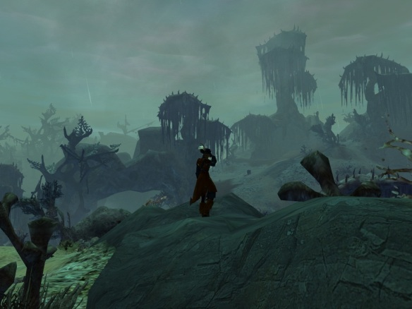 My thief in Malchor's Leap in Guild Wars 2