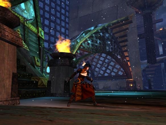 My Guild Wars 2 thief in Hoelbrak