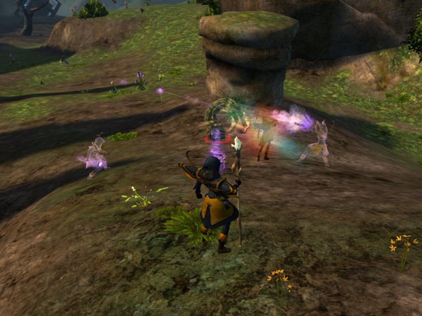 My mesmer and her illusions in Guild Wars 2
