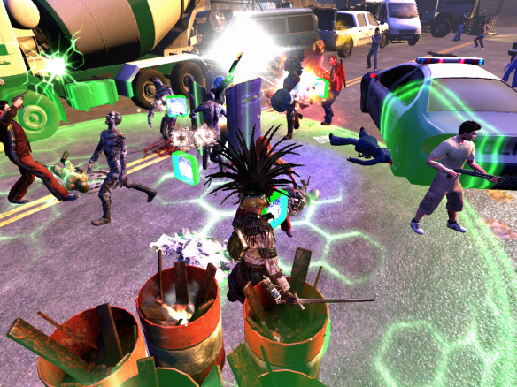 The Mayan zombie apocalypse in The Secret World