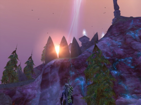 The ruins near Traders' Berth in Aion