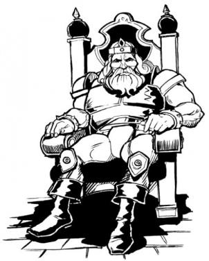 Art of Llane Wrynn, king of Stormwind