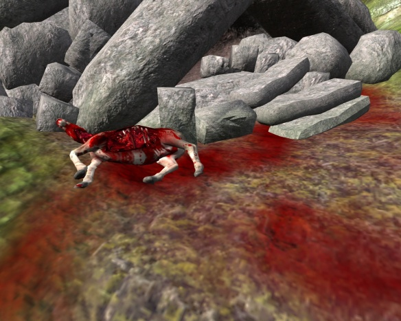 Age of Conan is a gory game