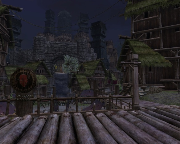 Night in Tortage City in Age of Conan