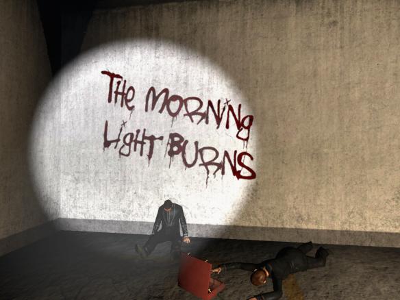 The Morning Light burns