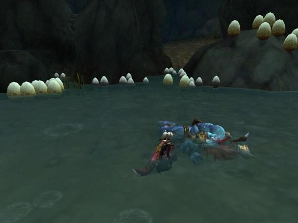 My warlock swears a blood oath with Vol'jin in the Dagger in the Dark scenario