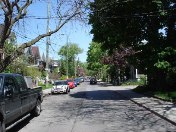 A street in Parkdale