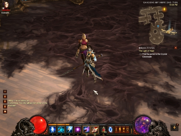 Li-Ming and Eirena in Diablo 3