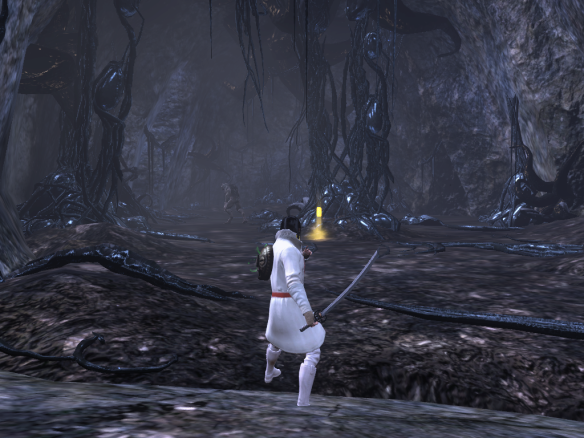 My Templar soloing a nightmare mission in The Secret World